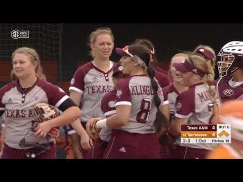 Softball: Highlights | A&M 6, Tennessee 4