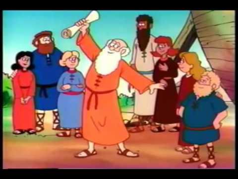 Download Noah's Ark Bible Story For Kids    Children Christian Bible Cartoon Movie