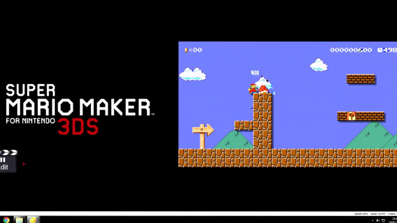 How to run Super mario maker for 3ds on pc (OUTDATED, READ PINNED COMMENT)