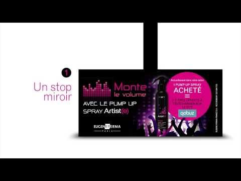 Monte Le Volume Avec Le Pumpup Spray Artist(e)
