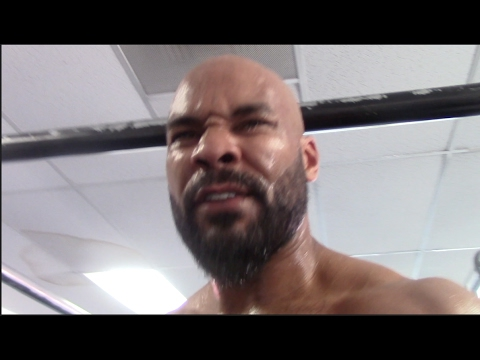 'IM FIGHTING DEONTAY WILDER FOR ALL THE MARBLES' - GERALD WASHINGTON AIMS FOR CAREER BEST CONDITION