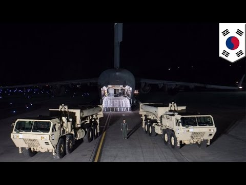 USA Vs China: THAAD missile system begins deployment in South Korea, China angered - TomoNews