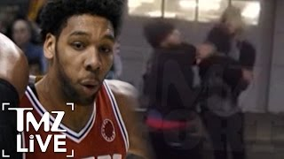 Jahlil Okafor Second Fight Caught On Tape  TMZ Live