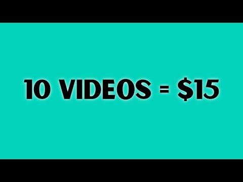 Get Paid To Watch Videos (Make Money Online Watching Ad)