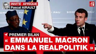 « En Afrique, Emmanuel Macron pratique la realpolitik », souligne Pascal Airault