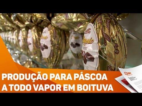 Produção para Páscoa a todo vapor em Boituva - TV SOROCABA/SBT