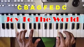 How To Play Joy To The World on Piano - Easy Piano Tutorial - Christmas Song