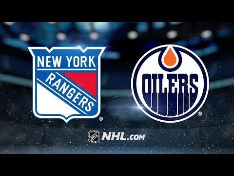 Georgiev picks up first win as Rangers top Oilers 3-2