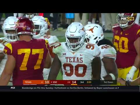 Texas vs USC Football Highlights