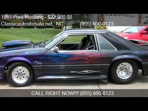 1981 ford mustang for sale in nc 27603 vnclassics youtube. Black Bedroom Furniture Sets. Home Design Ideas
