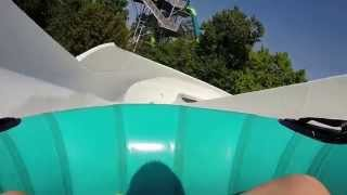 """Meltdown"" on-ride POV Water Country USA"