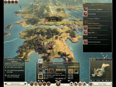 Let's Play Total War: Rome 2 - Macedon - Pt. 009; Province Under Construction