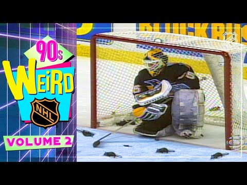 Scattered Rats, Shattered Glass, and more Goalie Gaffes | Weird NHL '90s Edition Vol. 2