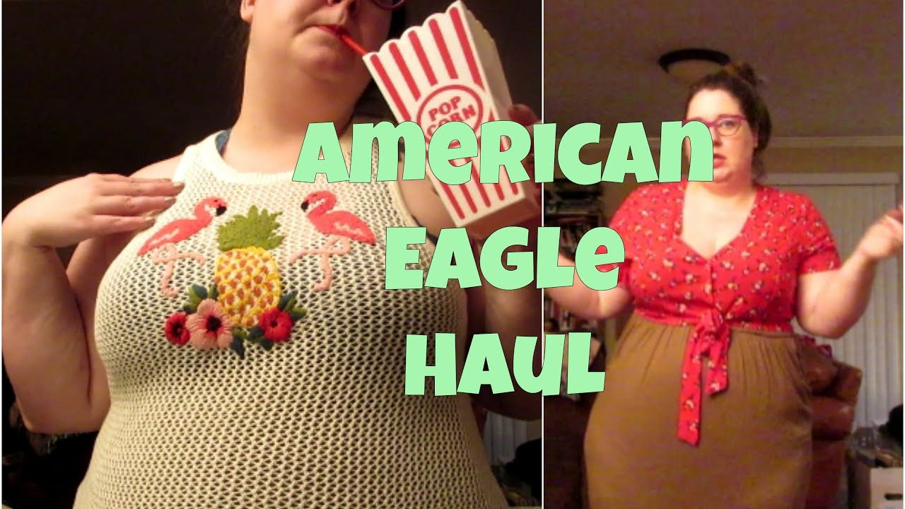 dae9a37fe6 American Eagle Plus Size Haul by Shanno Whamo