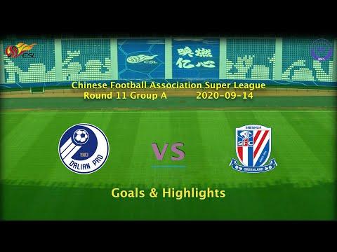 Dalian Pro Shanghai Shenhua Goals And Highlights