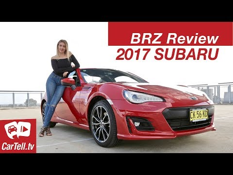 2017 Subaru BRZ Review CarTell.tv