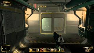 Deus Ex TML - Glitching into the secret elevator (really cool shortcut)