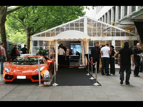 BERLIN Fashion Week - Lamborghini Event