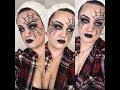 My First Halloween Tutorial!   Spiderweb   Kaylah's Makeup