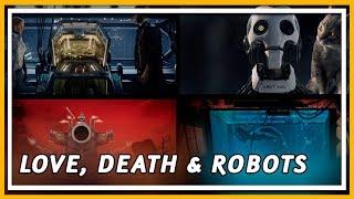 LOVE DEATH AND ROBOTS (NETFLIX) 🤖 PARA QUEM AMA BLACK MIRROR (SEM SPOILER) | COXINHA NERD