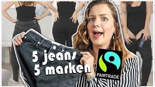 ich teste LIVE 5 faire Jeans Hosen von 5 Marken in Größe 40 - Size Inbetweenie