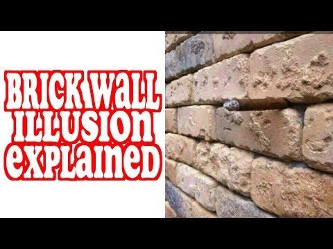 Brick Wall Illusion Explained Mully
