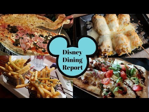 Disney food review - Our TOP 10 favourite Disney World dining experiences   November 2017 trip