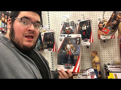 EPIC TOY HUNTING AT TARGET-WWE ELITES & MORE!!!