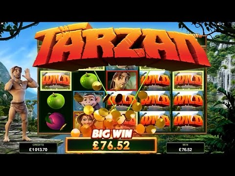 Tarzan Online Slot from Microgaming 🐵