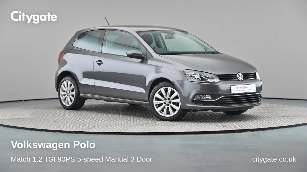 Volkswagen Polo - Match 1.2 TSI 90PS 5-speed Manual 3 Door - Citygate Volkswagen Chalfont - YouTube