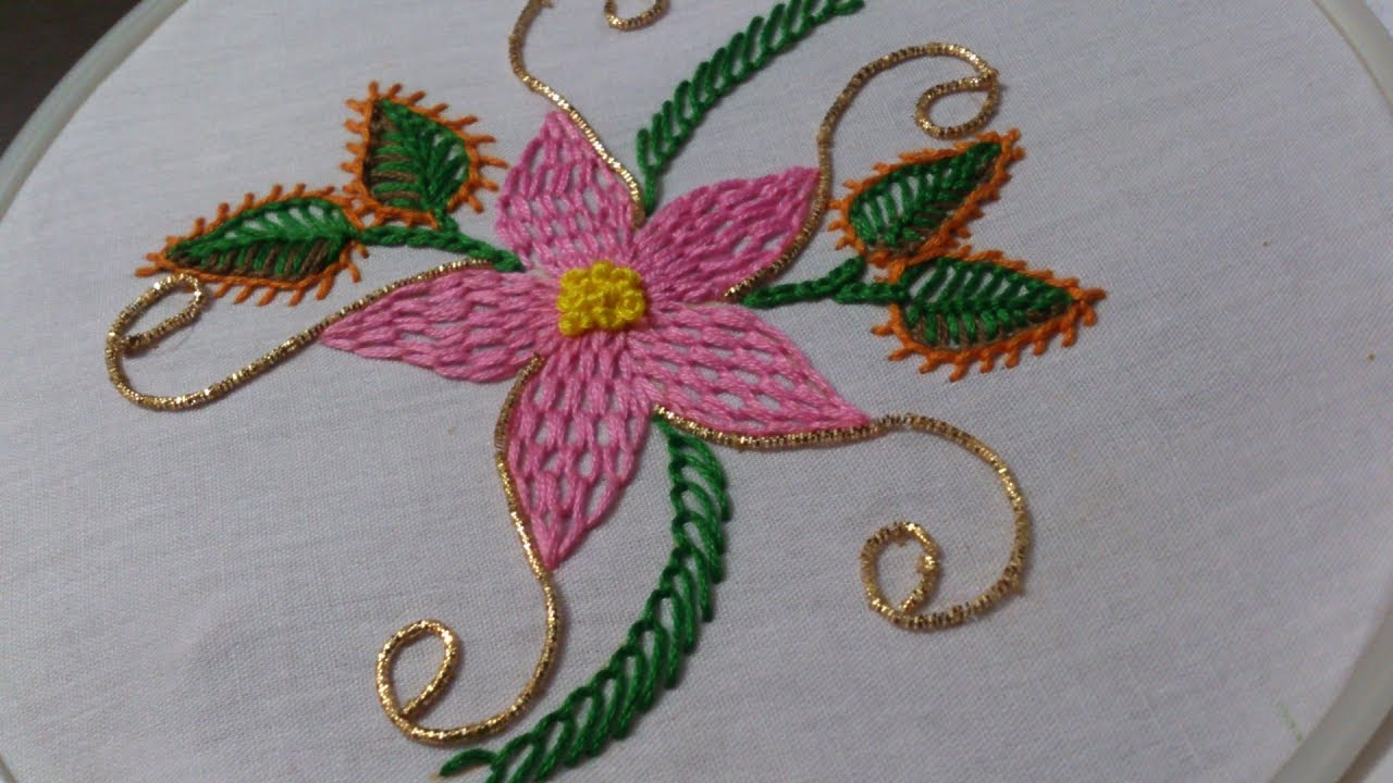 Hand Embroidery Designs Hand Embroidery Stitches Tutorial Wave