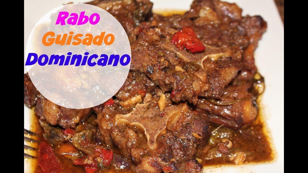 Rabo guisado Dominicano | Cocinando con Ros Emely