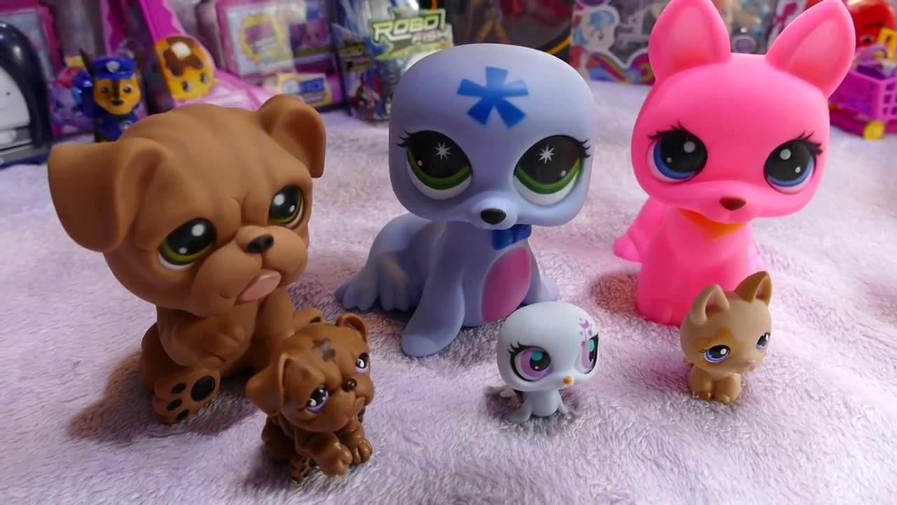 Fake Littlest Pet Shops - compared to Hasbro Official LPS