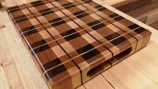 Custom Cutting Board from Scrap Wood   How to Make