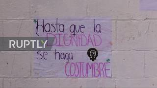 Mexico: UNAM students skip classes to join national women's strike