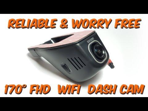Highly Reliable 170° Wifi Dash Cam Autumn 2017 Car Dvr