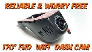 Highly Reliable 170° Wifi Dash Cam Autumn 2017 car dvr