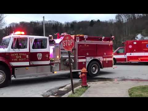 Fire rips through home on 12th st Jeannette  1/12/20