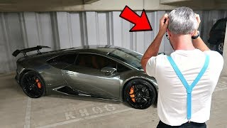 SURPRISING MY 'DAD' WITH MY LAMBORGHINI