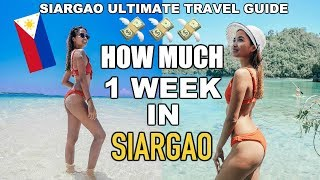 How Much Does 1 WEEK in SIARGAO COST | SIARGAO PHILIPPINES TRAVEL GUIDE & BUDGET