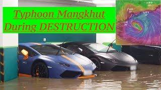 Compilation of Destruction clips of Super Typhoon Mangkhut-颱風山竹香港