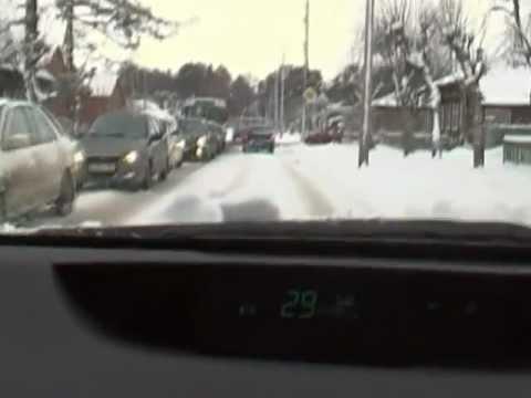 В Серпухове растет число аварий.mpg