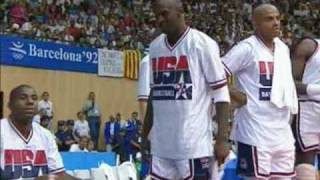 """Dream Team"" - 1992 USA Olympic Basketball team"