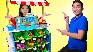 Emma Pretend Play as Toy Store Cashier thumbnail
