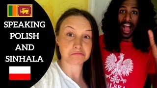 HOW TO  TALK SINHALA | POLISH BASIC #Wrap1