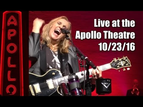 Melissa Etheridge plays The Apollo Theatre, NYC  MEmphis Rock and Soul tour  10232016