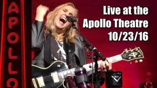 Melissa Etheridge plays The Apollo Theatre, NYC   MEmphis Rock and Soul tour   10-23-2016