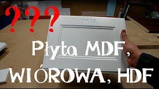 Podstawowe materiały na meble, czyli płyta MDF, wiórowa oraz HDF. Wygląd i zastosowanie #2