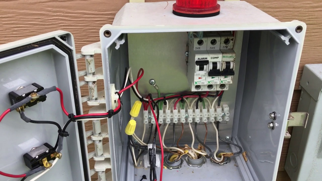 house fuse box wiring diagram ford trailer harness exelent tow gift electrical and red light alarm aerobic septic system is going off. what do i do? - youtube