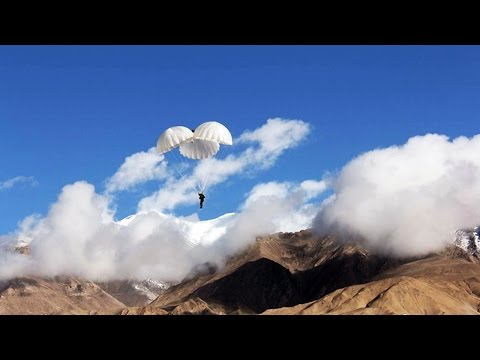 Military power china special forces parachutists airborne 探訪